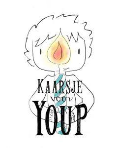 Logo Kaarsje voor Youp